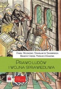 Prawo ludów i wojna sprawiedliwa - okładka książki