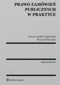 Prawo zamówień publicznych w praktyce - okładka książki