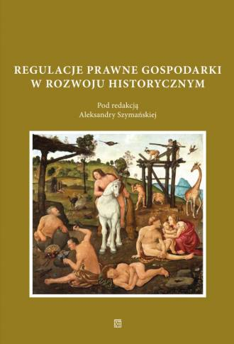 Regulacje prawne gospodarki w rozwoju - okładka książki