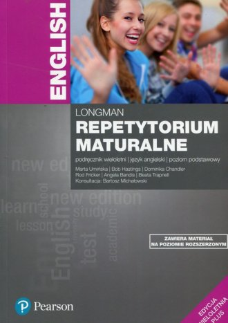 Repetytorium maturalne. Język angielski. - okładka podręcznika