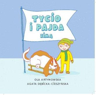 Tycio i Pajda zimą - okładka książki