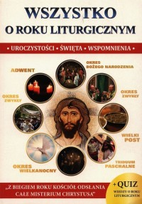Wszystko o roku liturgicznym - okładka książki