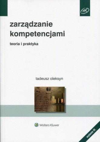 Zarządzanie kompetencjami. Teoria - okładka książki