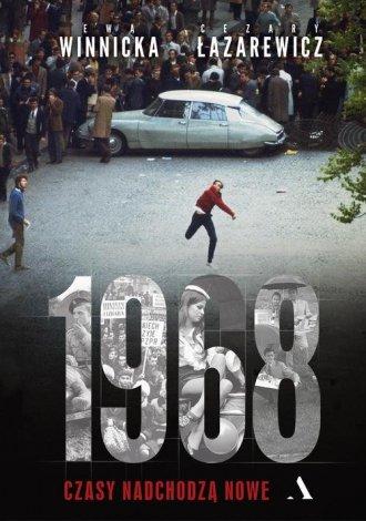 1968. Czasy nadchodzą nowe - okładka książki