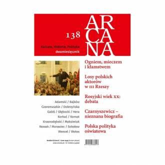 Arcana nr 138 (6)/2017 - okładka książki