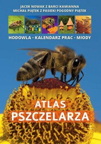 Atlas pszczelarza - okładka książki