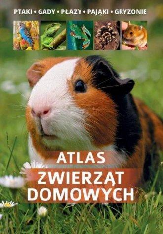 Atlas zwierząt domowych - okładka książki