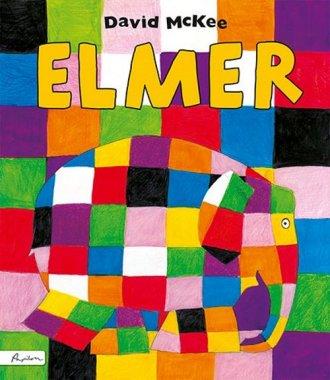 Elmer - okładka książki
