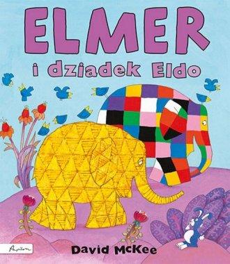 Elmer i dziadek Eldo - okładka książki