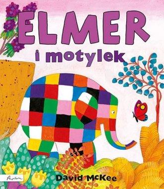 Elmer i motylek - okładka książki