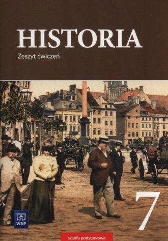 Historia 7. Szkoła podstawowa. - okładka podręcznika