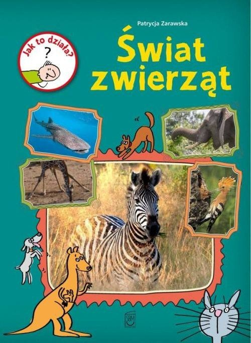 Jak to działa? Świat zwierząt - okładka książki