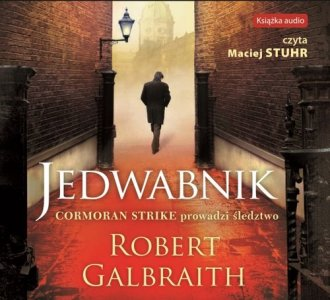 Jedwabnik - pudełko audiobooku