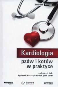 Kardiologia psów i kotów w praktyce - okładka książki