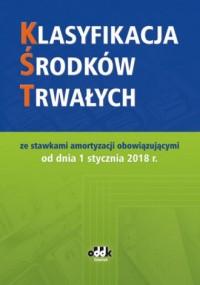 Klasyfikacja środków trwałych - okładka książki