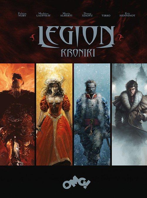 Legion - Kroniki - okładka książki