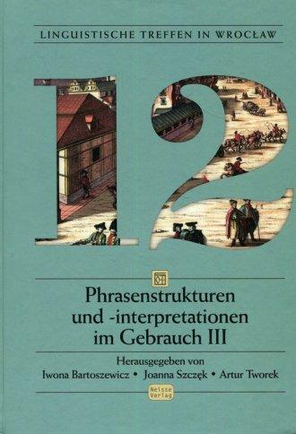 Linguistische Treffen in Wrocław - okładka podręcznika