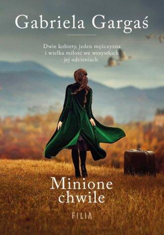 Minione chwile - okładka książki