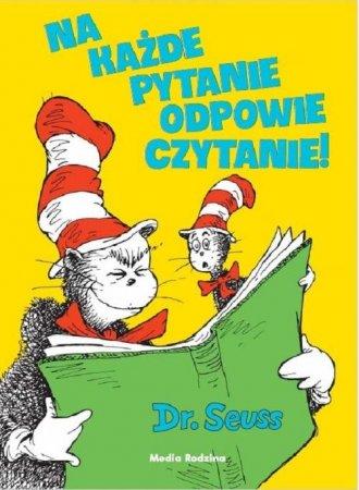 Na każde pytanie odpowie czytanie! - okładka książki