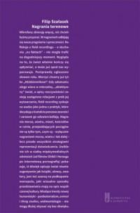 Nagrania terenowe - okładka książki