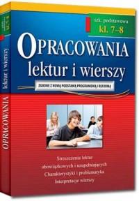 Opracowania lektur i wierszy 7-8. - okładka podręcznika