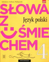Słowa z uśmiechem 4. Szkoła podstawowa. - okładka książki