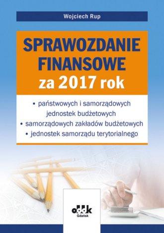 Sprawozdanie finansowe za 2017 - okładka książki