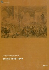 Sycylia 1848-1849 - okładka książki