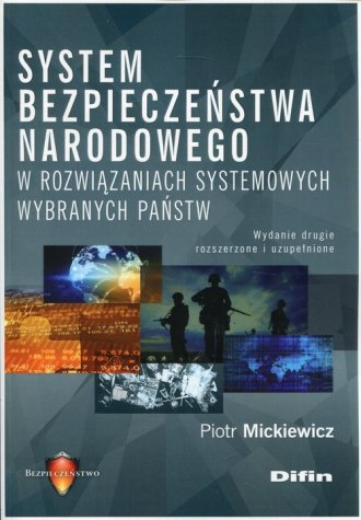 System bezpieczeństwa narodowego - okładka książki
