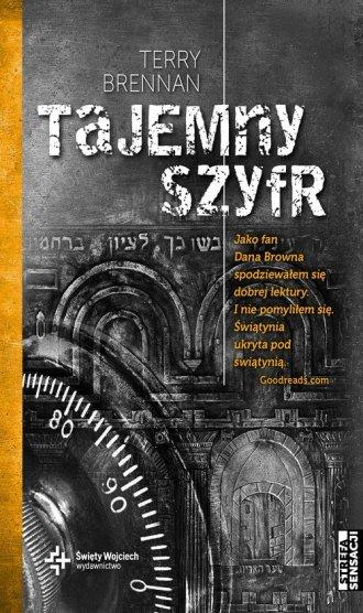 Tajemny szyfr - okładka książki