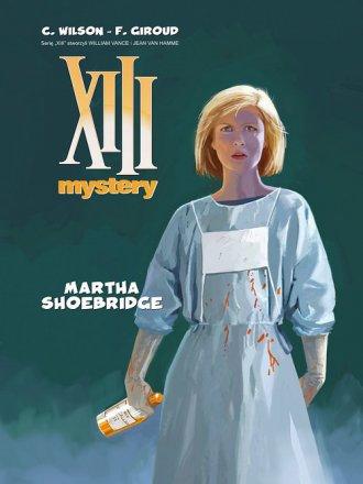 XIII Mystery 8. Martha Shoebridge - okładka książki