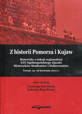 Z historii Pomorza i Kujaw. Materiały - okładka książki