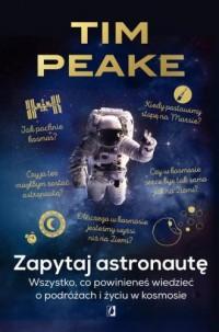 Zapytaj astronautę - okładka książki