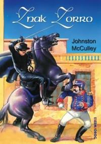 Znak Zorro - Johnston McCulley - okładka książki