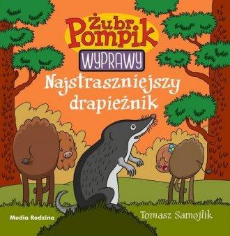 Żubr Pompik 5. Najstraszniejszy - okładka książki