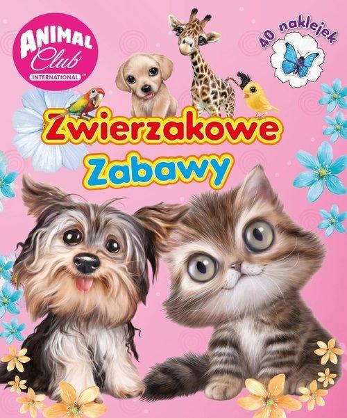 Animal Club Activity. Zwierzakowe - okładka książki