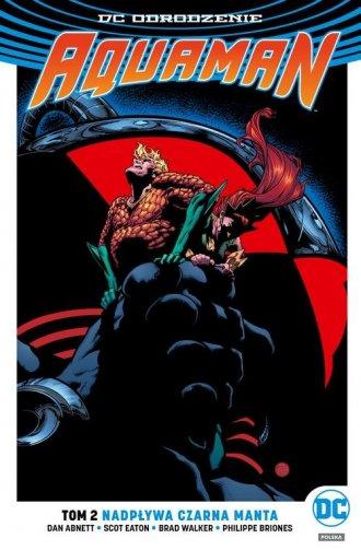 Aquaman. Tom 2. Nadpływa Czarna - okładka książki