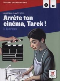Arrete ton cinema Tarek! (+ CD) - okładka podręcznika