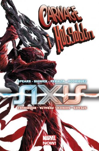 Axis Carnage i Hobgoblin - okładka książki