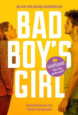 Bad Boys Girl - okładka książki