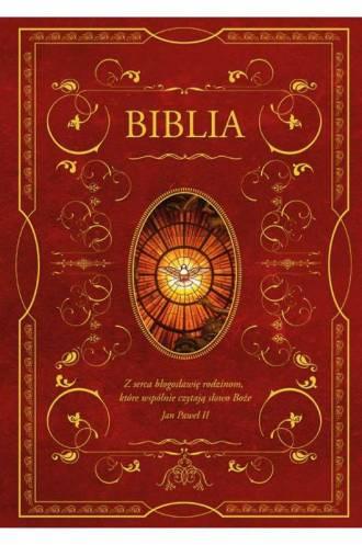 Biblia domowa z obwolutą - wizerunek - okładka książki