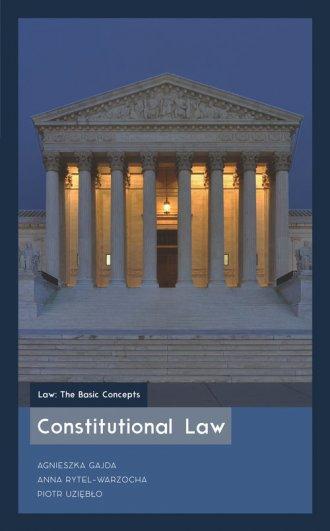 Constitutional Law - okładka książki