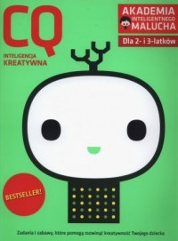 CQ: inteligencja keatywna dla 2-3 - okładka podręcznika