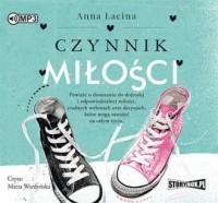 Czynnik miłości - Anna Łacina - pudełko audiobooku