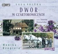 Dwór w Czartorowiczach - Monika Rzepiela - pudełko audiobooku
