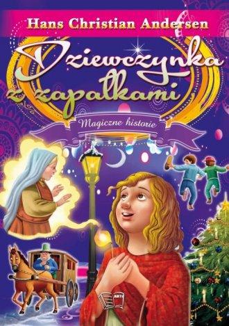 Dziewczynka z zapałkami - okładka podręcznika