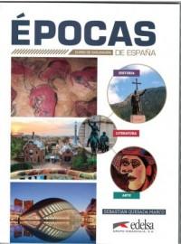 Epocas de Espana - Sebastian Quesada - okładka podręcznika