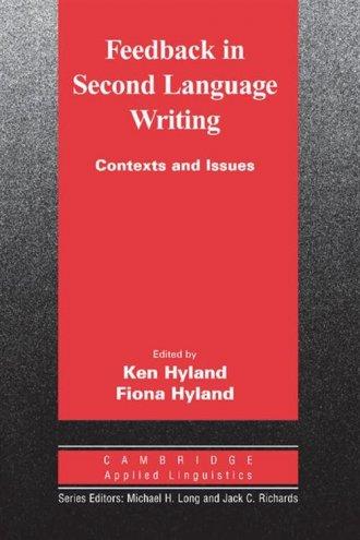 Feedback in Second Language Writing. - okładka podręcznika