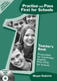 First for Schools Teachers Book. - okładka podręcznika
