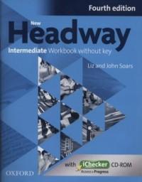 Headway 4E Intermediate Workbook - okładka podręcznika
